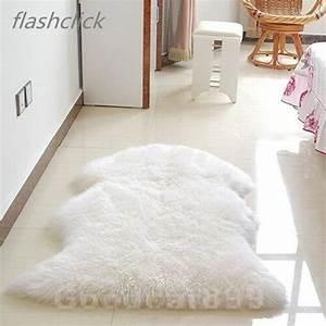 Tapis Imitation Fourrure : mouton art tapis imitation environ 60x90 cm tapis couverture de fourrure fausse fourrure achat ~ Teatrodelosmanantiales.com Idées de Décoration