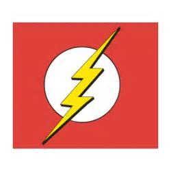 Flash Superhero Logo Vector