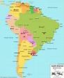 South America Maps | Maps of South America