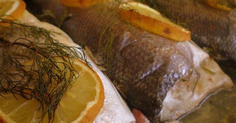 entra en mi cocina lubina tierra mar loup de mer terre mer