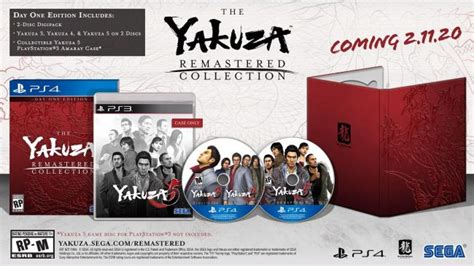 yakuza remastered collection  ps heading westward