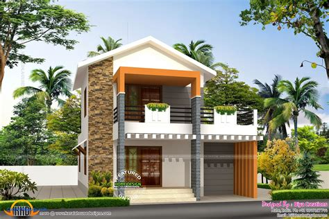 A Simple Modern Home With A Lot Of Personality Is For A And Their modern small house plans for narrow lots best design