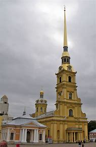 Peter and Paul Cathedral St. Petersburg Russia