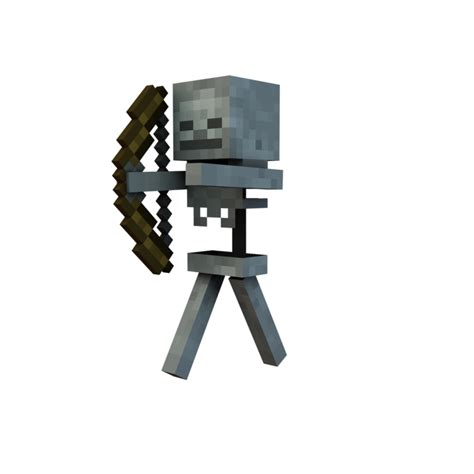 Minecraft Skeleton Png Png All