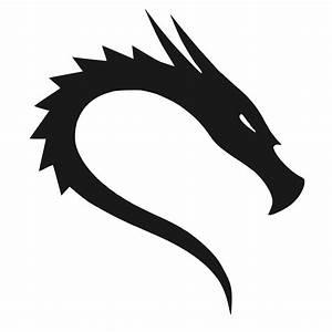 """Kali GNU + Linux Logo"" Stickers by GNULinux Redbubble"