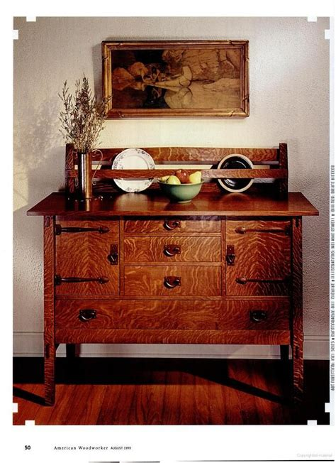 mission style sideboard tutorial mission furniture plans