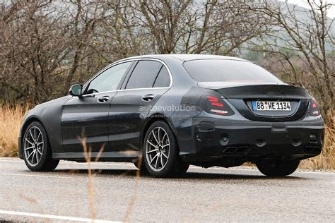 2015 C 63 Amg W205 Spied In Spain [photo Gallery
