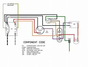 Wall Ac Capacitor Wiring Diagram