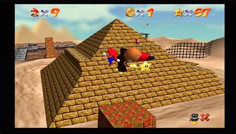 Super Mario 64 Shifting Sand Land In The Talons Of The