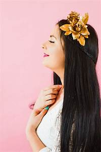 DIY METALLIC FLOWER CROWN FOR ALL YOUR COPPER COLOUR ...