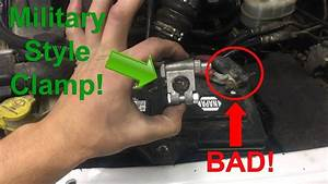 Battery Terminal Clamp Replacement Diy  Any Vehicle