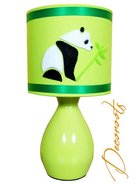 le de chevet enfant b 233 b 233 py le panda vert enfant