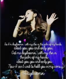 Ariana Grande Lyric Quotes
