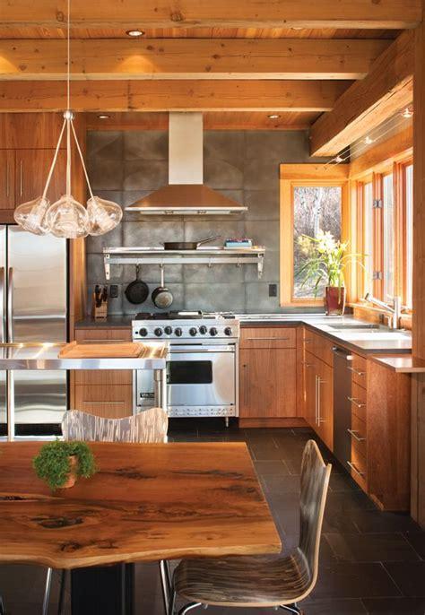 kitchen island on 1000 ideas about modern wood house on steel 5117
