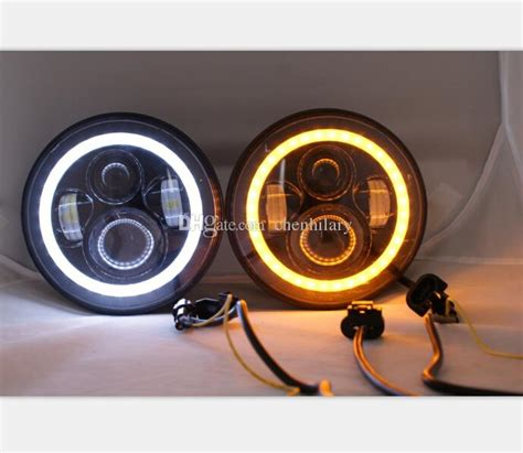 cree    led headlight amberwhite