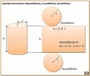 Durchmesser Berechnen Zylinder : zylinder geometrie mit formel die mantelfl che und grundfl che berechnen schule pinterest ~ Themetempest.com Abrechnung