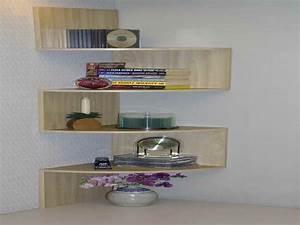 étagère D Angle Murale : etagere murale bois ikea ~ Dailycaller-alerts.com Idées de Décoration