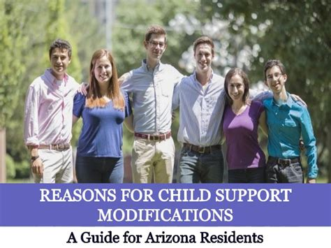Modification Reasons by Reasons For Child Support Modifications A Guide For