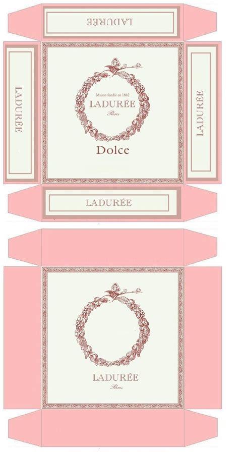 Dollhouse Miniature Template by Dollhouse Printable Boxes Dollhouse Printables 1