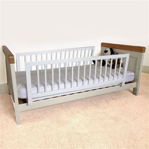 safetots double sided wooden bed guard two toddler bed