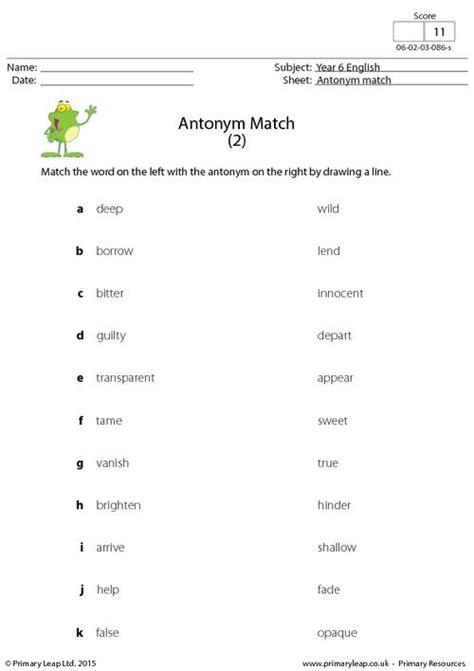 antonym match 2 primaryleap co uk