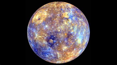 what color is mercury messenger false color mercury globe spin