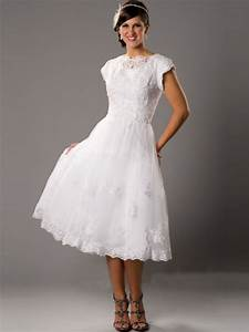 tea length wedding dresses with sleeves trendy dress With tea length wedding dresses plus size
