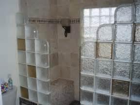 Block Print Shower Curtain by Glass Block Shower Contemporary Bathroom Detroit