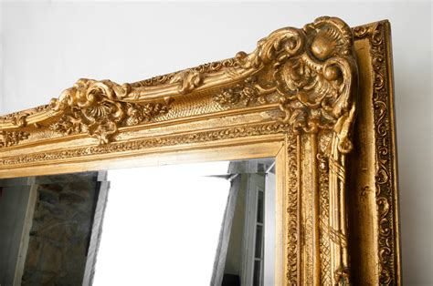 gilded floor mirror vintage large floor to ceiling gilded mirror at 1stdibs