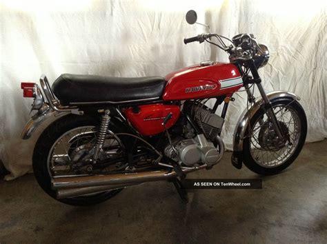Vintage 1970 Kawasaki H1 Mach Iii Motorcycle