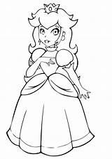 Peach Princess Coloring Pages Cat Printable Books Last Q2 sketch template