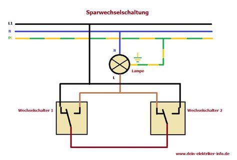 anschluss bewegungsmelder 3 adern sparwechselschaltung elektro steckdosen elektroinstallation haus und elektroinstallation