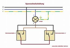Schaltplan Für Wechselschaltung : sparwechselschaltung elektro diy und home ~ Eleganceandgraceweddings.com Haus und Dekorationen