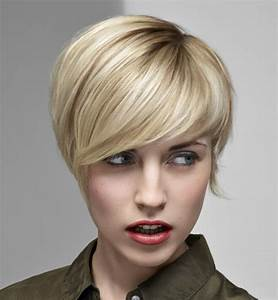 Coupe Longue Femme : coupe courte femme avec frange selon la forme du visage ~ Dallasstarsshop.com Idées de Décoration