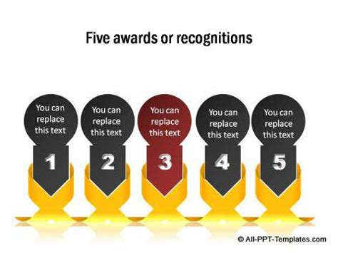 powerpoint award templates