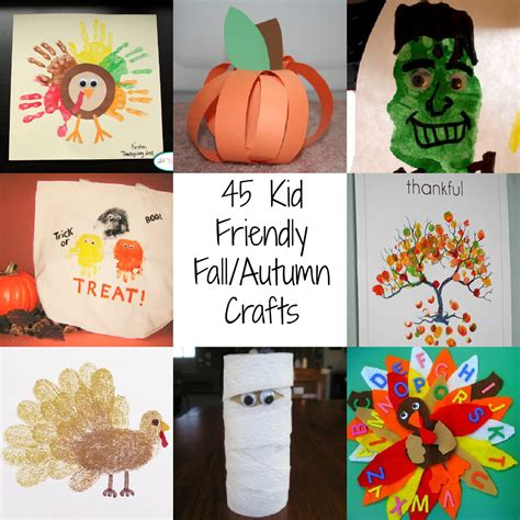 fall crafts autumn art projects for kids autumn crafts picture
