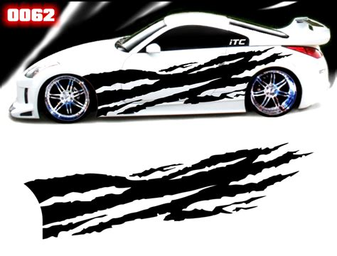Tear Away Style 62 Vinyl Vehicle Graphic Kit