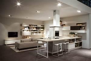 Cucina e soggiorno openspace funzioni divise o spiccata for Soggiorno e cucina
