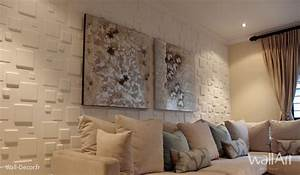 Deco Mural Salon : decoration mur interieur ~ Teatrodelosmanantiales.com Idées de Décoration
