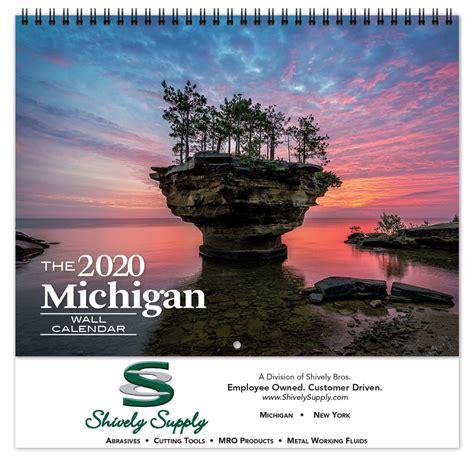 michigan promotional calendar farley calendar company