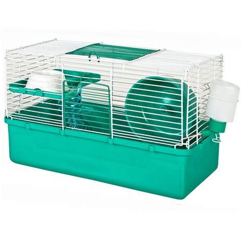 hamster cages ware home sweet home teal 1 story hamster cage petco