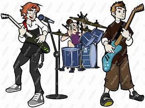 Rock Band Clipart - Clipart Suggest