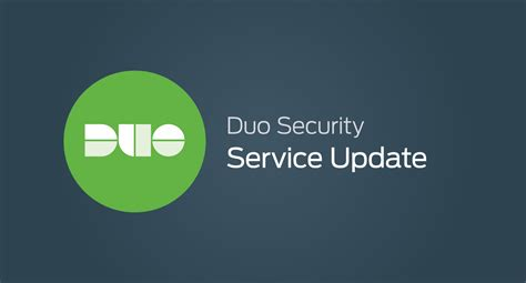 duo services update duo security