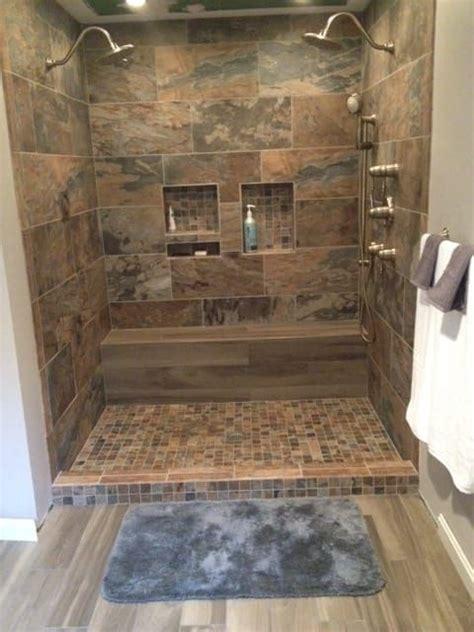 bathroom shower porcelain chalet   mosaic sage