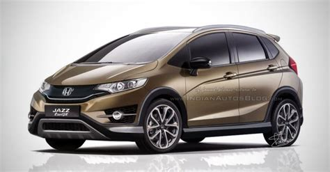2015 Honda Jazz Twist (2015 Honda Fit Twist) Rendering