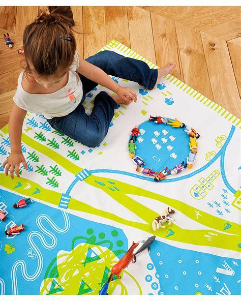 tappeto per correre deuz tappeto gioco tapikid natura verde chiaro 100