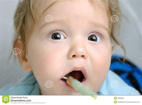 Baby Teething Royalty Free Stock Image Image 3964286