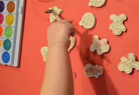 Weihnachtsdekoration Selber Machen Mit Kindern by Basteln Mit Kleinkindern Weihnachtsdeko Aus Salzteig