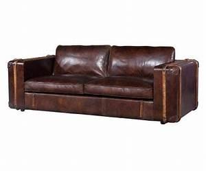 Sofa 3 Sitzer Leder : kasper wohndesign sofa 3 sitzer leder braun elsa otto ~ Eleganceandgraceweddings.com Haus und Dekorationen