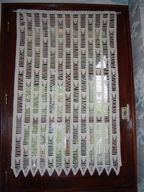 Rideau Coeur Au Crochet by Rideau Au Crochet La Dilettante De Tout Un Peu